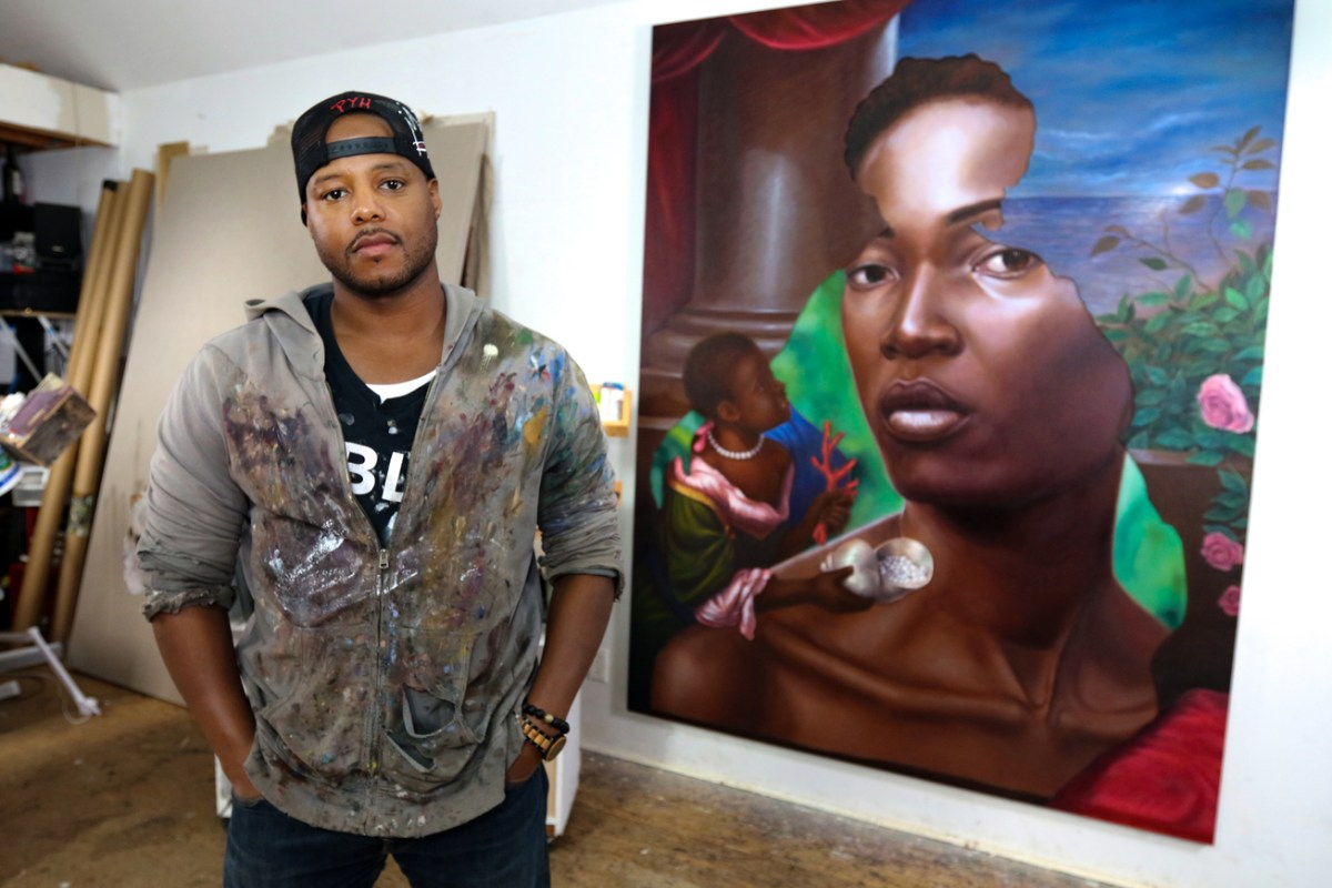 Titus Kaphar, Whose Paintings Reconstruct Accepted Historic Narratives, is a 2018 MacArthur 'Genius' Fellow